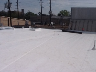 Flat Roof and Hail