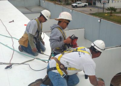 Anchor roofing employees