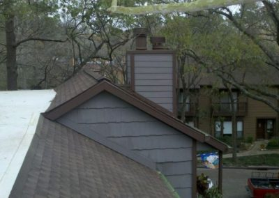 finished residential roofing project in Houston Texas 2